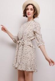 CHOKLATE printed dress