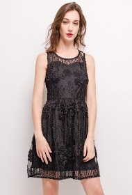CHOKLATE textured dress