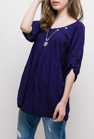 CHRISTY blouse with necklace