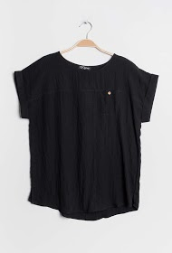 CHRISTY cotton blouse