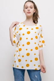 CHRISTY printed blouse