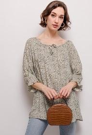 CHRISTY blouse met print