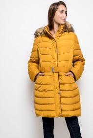 CHRISTY chaqueta de plumas con capucha