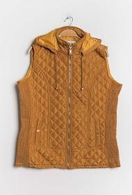 CHRISTY sleeveless down jacket