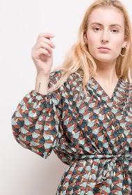 CHRISTY patterned dress