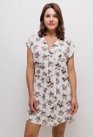 CHRISTY flowery dress