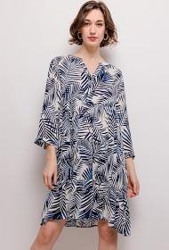 CHRISTY printed dress