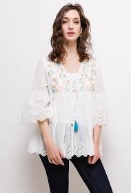 CIAO MILANO embroidered vest