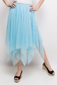 CIAO MILANO midi skirt in tulle