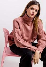 CIAO MILANO turtleneck sweater