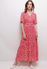 CIAO MILANO printed long dress