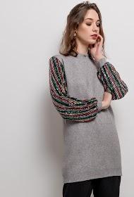 CIAO MILANO túnica tricotada