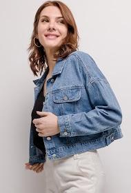 CIAO MILANO short denim jacket