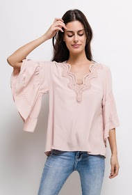 CIMINY blouse with lace