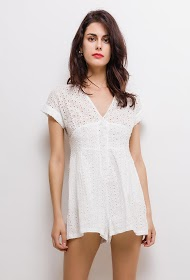 CIMINY playsuit in english embroidery