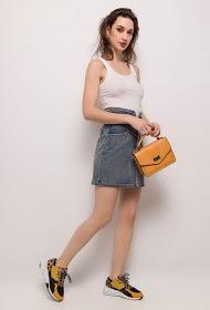 CIMINY buttoned skirt