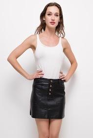 CIMINY leatherette skirt