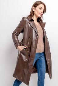 CIMINY leatherette coat