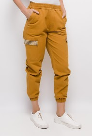 CIMINY cargo pants with pearls