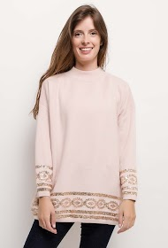 CIMINY sweater with sequins details