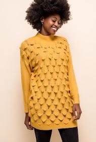 CIMINY tekstureret sweater