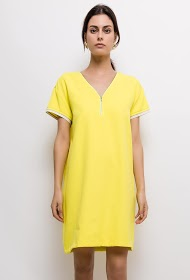 CIMINY dress with zip