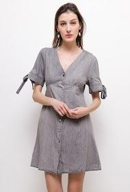 CIMINY kleid mit knöpfen