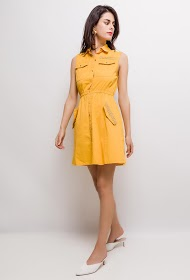 CIMINY buttoned dress