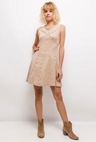 CIMINY suede effect dress