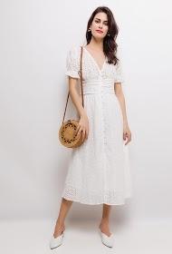 CIMINY english embroidery dress