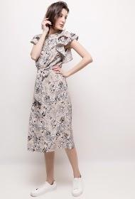 CIMINY floral midi dress