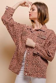 CIMINY leopard print jacket
