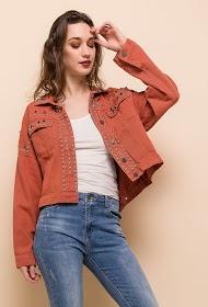 CIMINY jacket with studs
