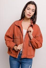CIMINY studded jacket