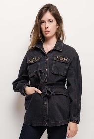 CIMINY jean jacket with buttons