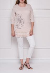 CO2 GRANDES TAILLES ruffled tunic