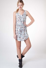 CO2 PARIS printed dress