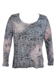 CO2 GRANDES TAILLES printed top