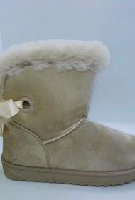 COCO PERLA furry boot