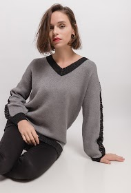 COLYNN two-colored pullover