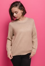 COLYNN iridescent sweater