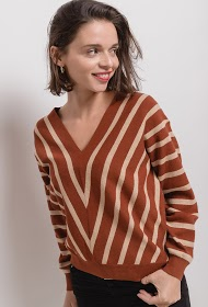 COLYNN striped sweater