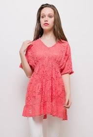 COLYNN lace tunic