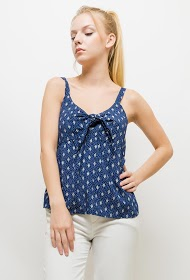 CORALINE patterned tank top