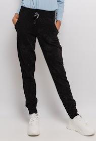 CORALINE velvet trousers
