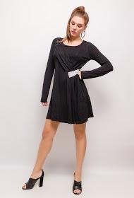 CORALINE dress with rhinestones