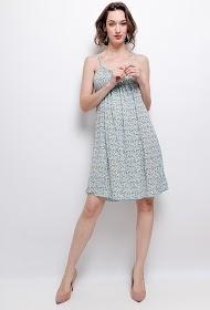 CORALINE printed dress
