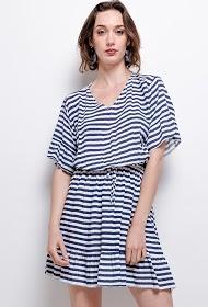 CORALINE striped dress