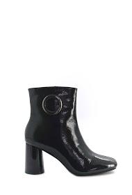 COVANA botines de tacón de charol