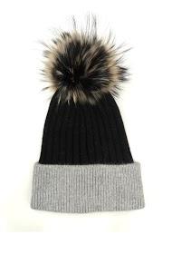DA FASHION tinted pompom hat